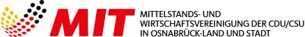 Logo der Mittelstands- und Wirtschaftsvereinigung der MIT Osnabrück